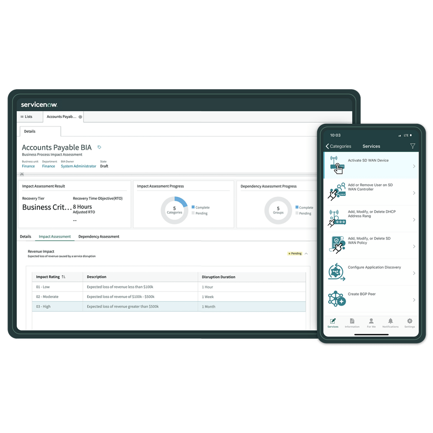 ServiceNow latest release fuels business resilience